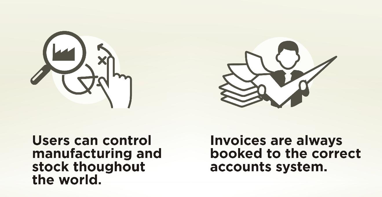 Multi company benefits icon